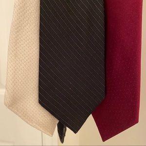 J Ferrar 3 pack of ties